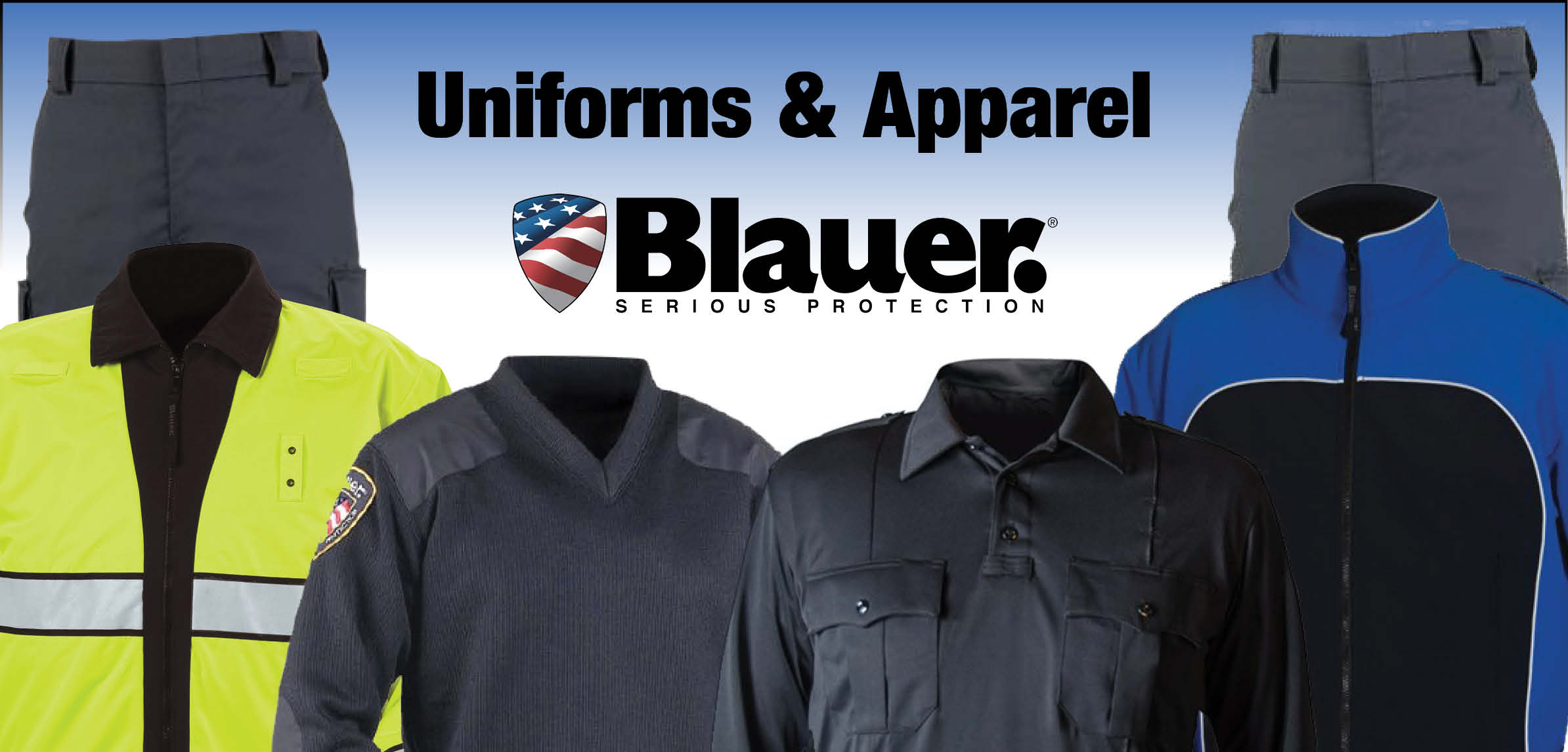 Blauer Uniform Headquarters